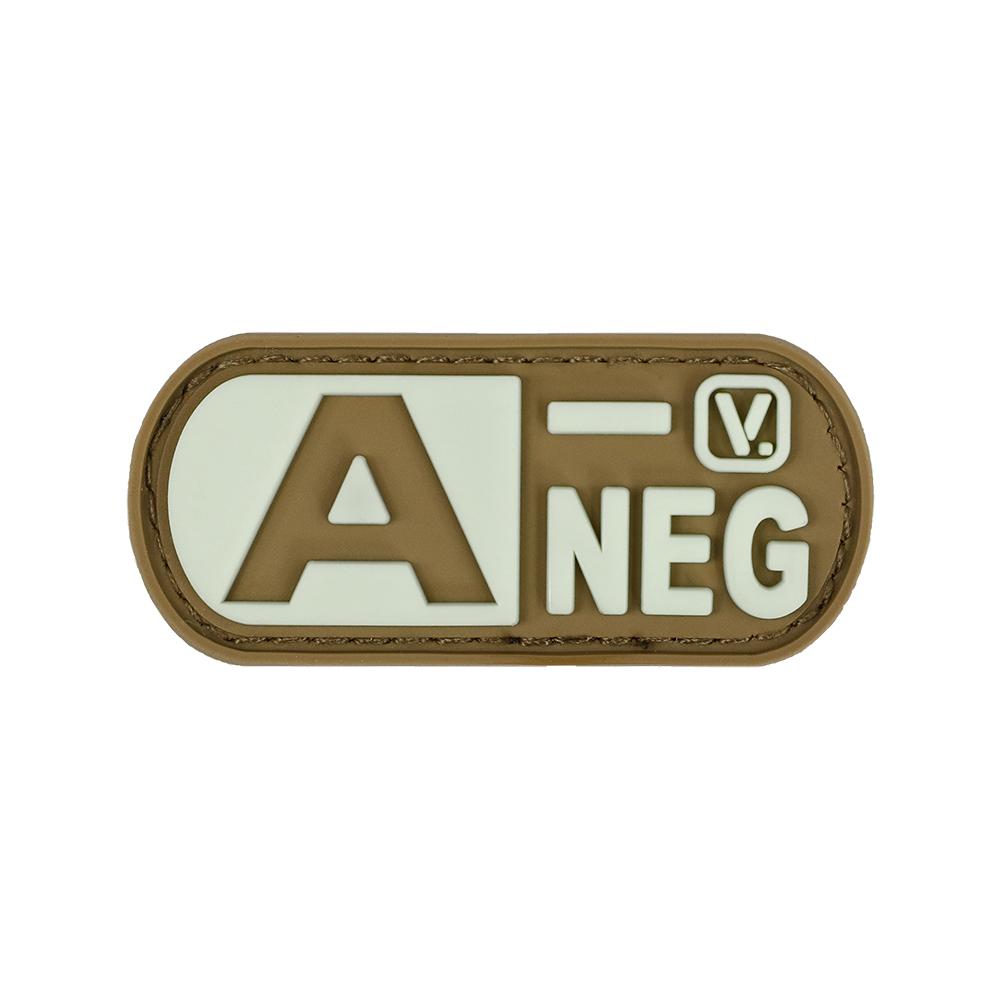 Vanquest - Phù hiệu Blood Type A- Negative -
