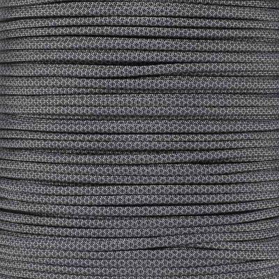 Dây Paracord - Màu Than Xám Rằn Ri - Charcoal Grey Black Diamonds (CGBD.550)
