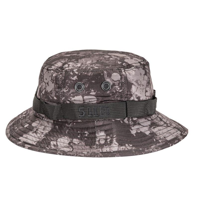 5.11 - Mũ vành rộng GEO7™ BOONIE Hat (357 Night - Màu Đen Xám Rằn Ri - Size M/L - 89422G7)