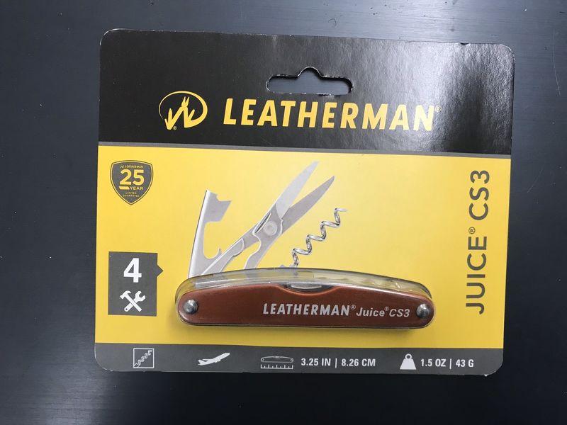 Pocket Leatherman - Juice CS3 (Màu cam - Orange)