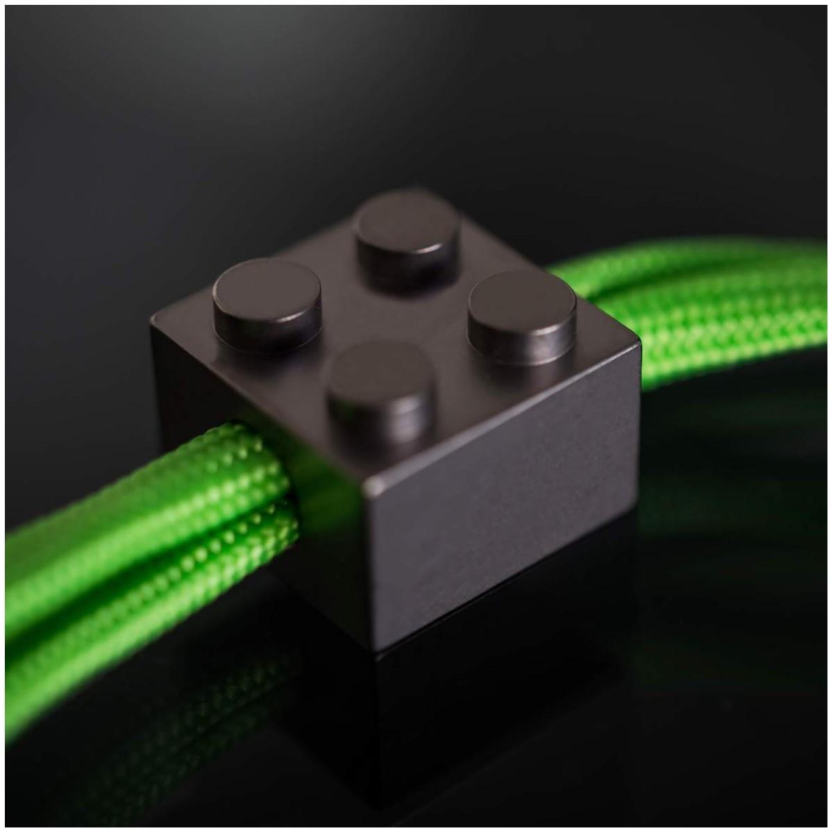 Hạt buộc dây - T-Brick Lanyard Bead ( màu xám bạc )