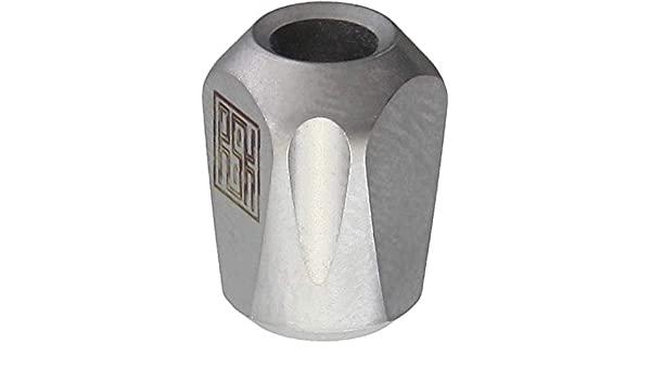 Bead Real Steel Titanium Pyramid Lanyard