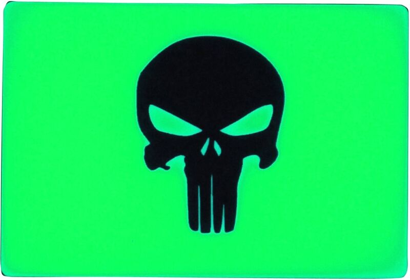 TEC - Phù Hiệu BEACON Patch Green Punisher