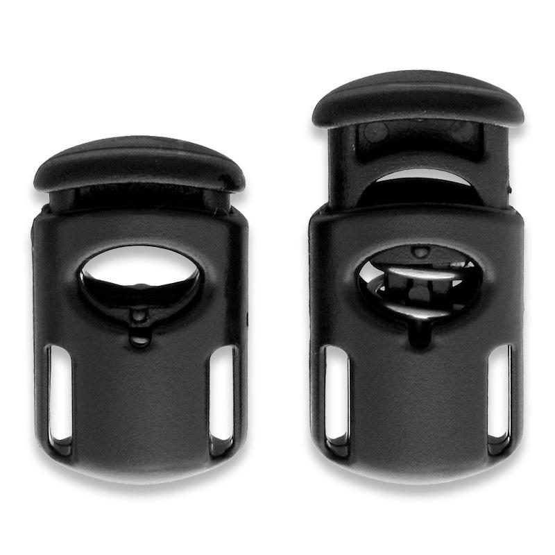 EDC - ITW - Khóa bấm dây Toaster Ellipse Cordloc Black made in USA
