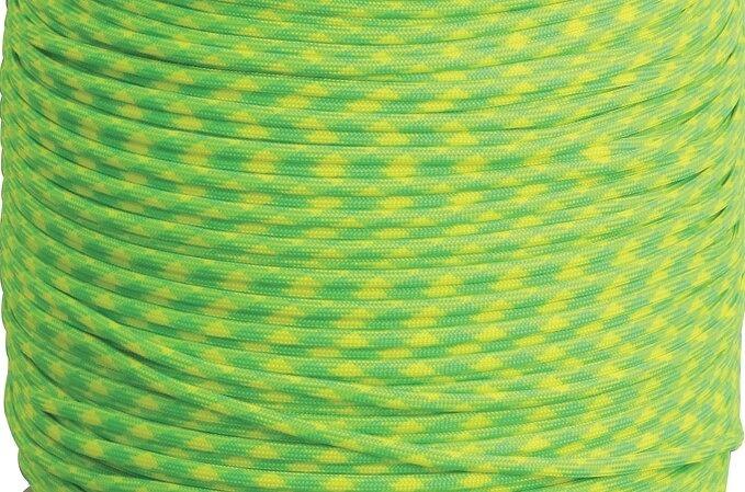 Dây Paracord - Màu Xanh đốm vàng Lemon - Lime (LL.550)