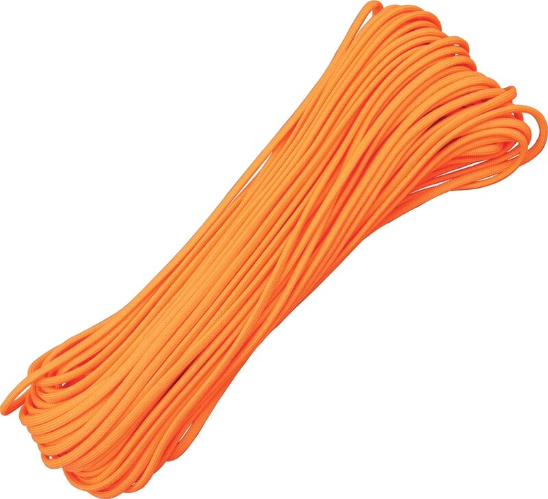 Atwood Rope - Dây Paracord 550lbs cuộn 30m màu Neon Orange