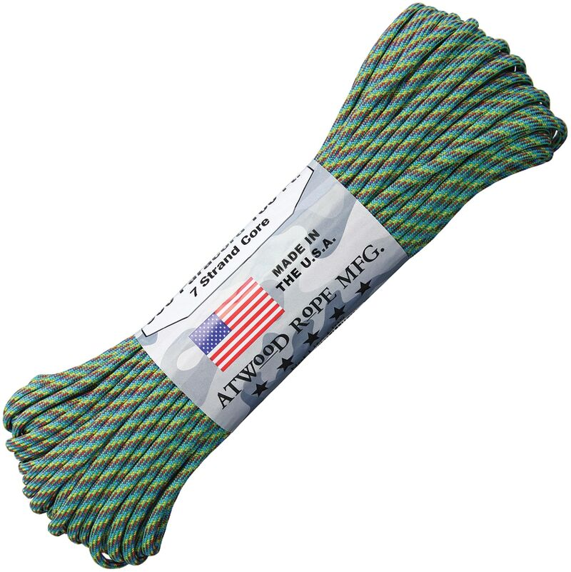 Atwood Rope - Dây Paracord 550lbs cuộn 30m màu Technicolor