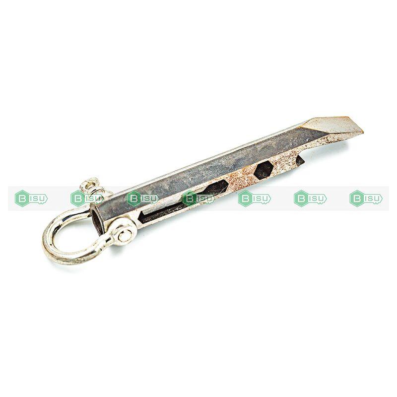 DIY - Móc treo Prybar 6 cạnh Thân trơn (Thép không gỉ, mạ oxit đen)