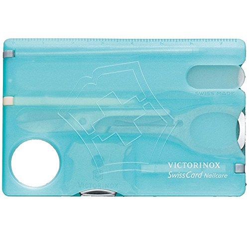 Thẻ đa năng Victorinox - SwissCard Nailcare Ice Blue ( màu xanh da trời )