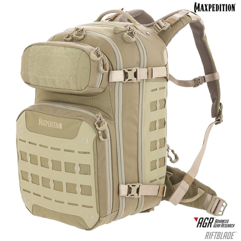 Maxpedition - Ba Lô RIFTBLADE™ CCW-Enabled Backpack 30L (Màu Tan - RBDTAN)