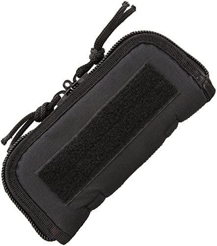 Carry All - Bao đựng dao 18cm Black Cordura Zip Pouch