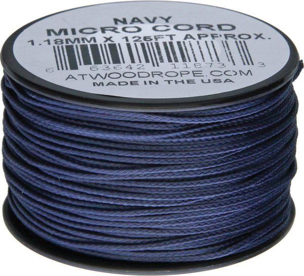 Atwood Rope - Dây Micro cord cuộn 38m màu Navy