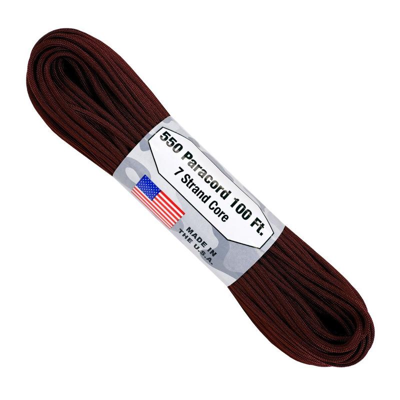 Atwood Rope - Dây Paracord 550lbs cuộn 30m màu Tím Maroon