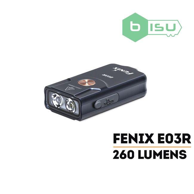 Đèn pin Fenix - E03R - 260 Lumens