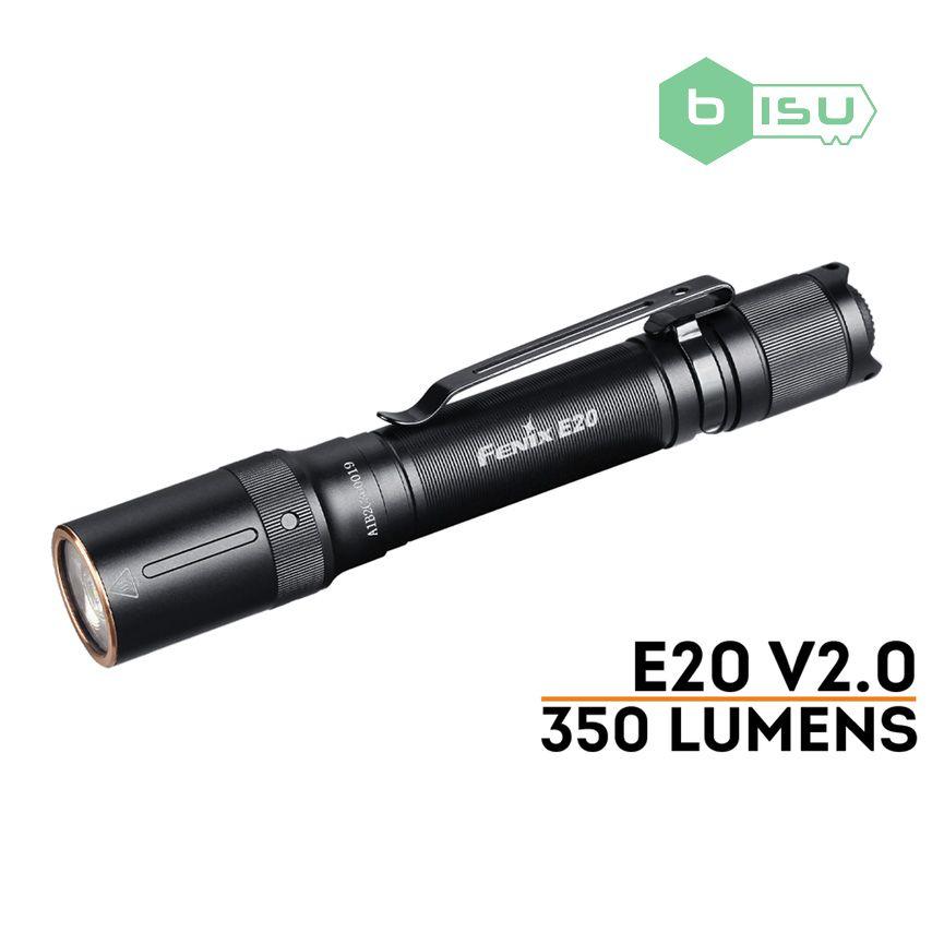Đèn pin Fenix - E20 V2.0 - 350 Lumens