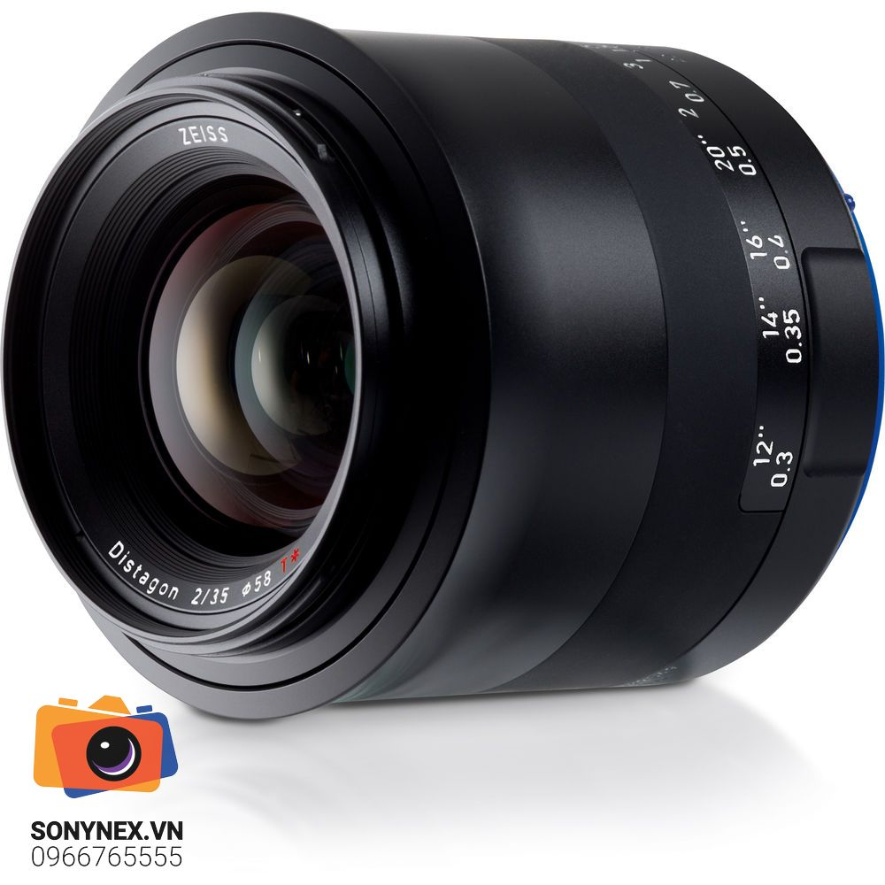 ZeissMilvus 35mm f/2 ZE for Canon EF | Chính hãng