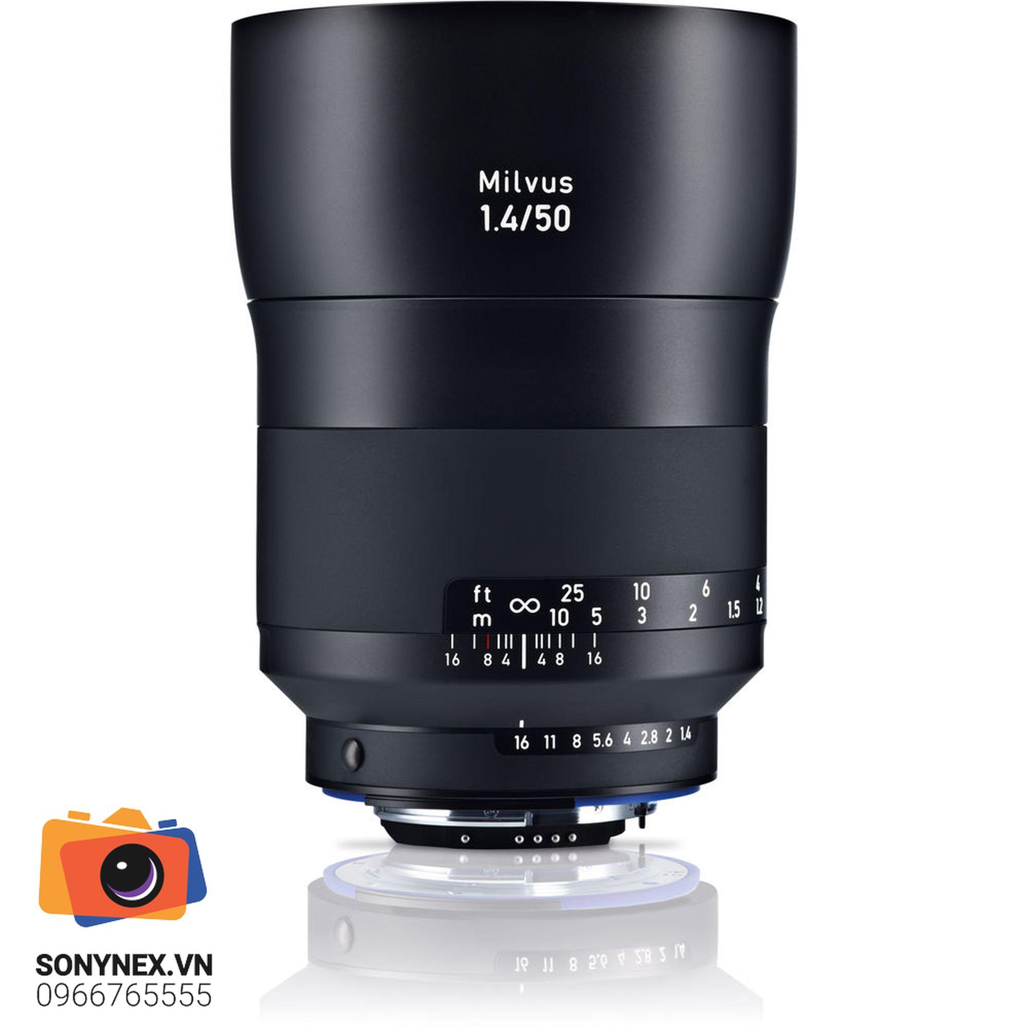 ZeissMilvus 50mm f/1.4 ZF.2 for Nikon F   Chính hãng