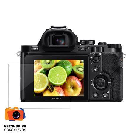 Miếng dán màn hình cường lực | Sony A7II - A7RII - RX100 | Nhập khẩu
