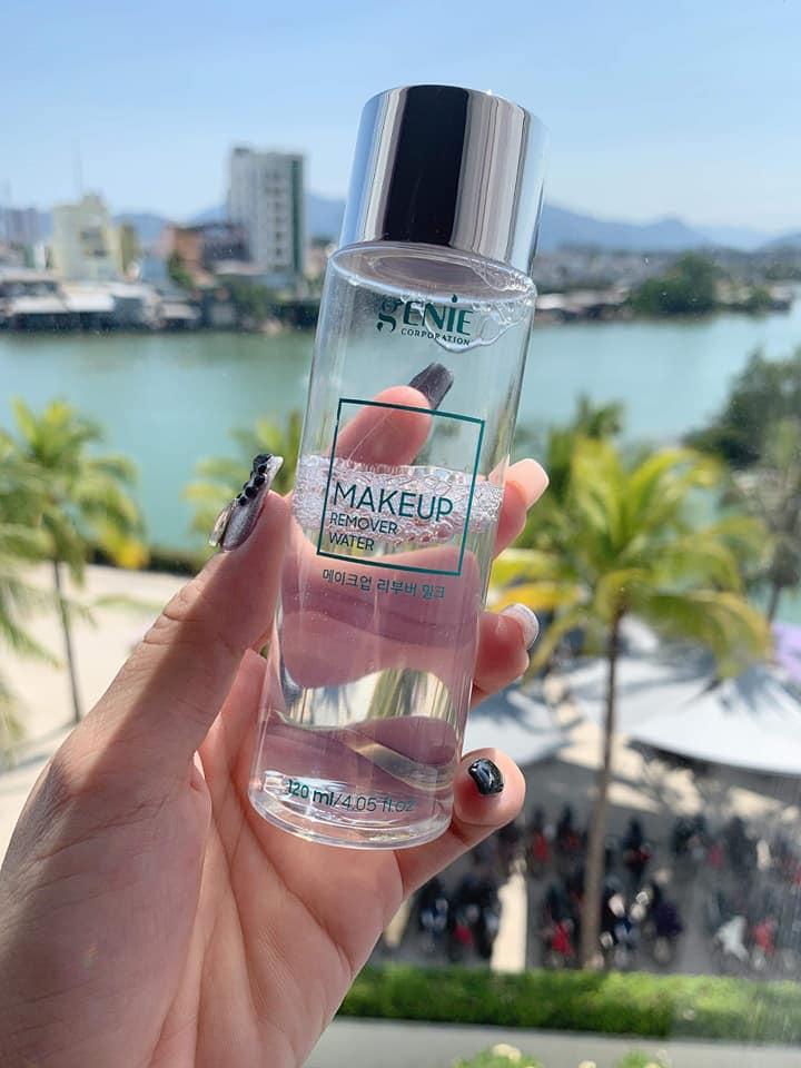 Nước tẩy trang sinh học Genie Makeup Remover Water
