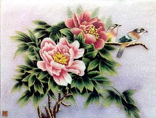 Hoa và chim