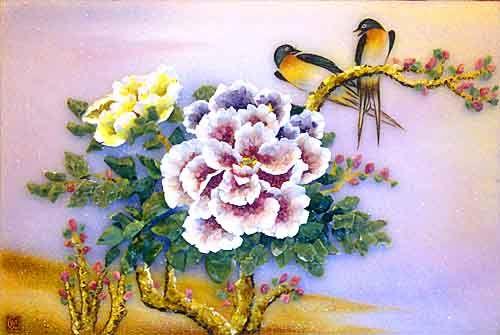 Hoa và chim 2