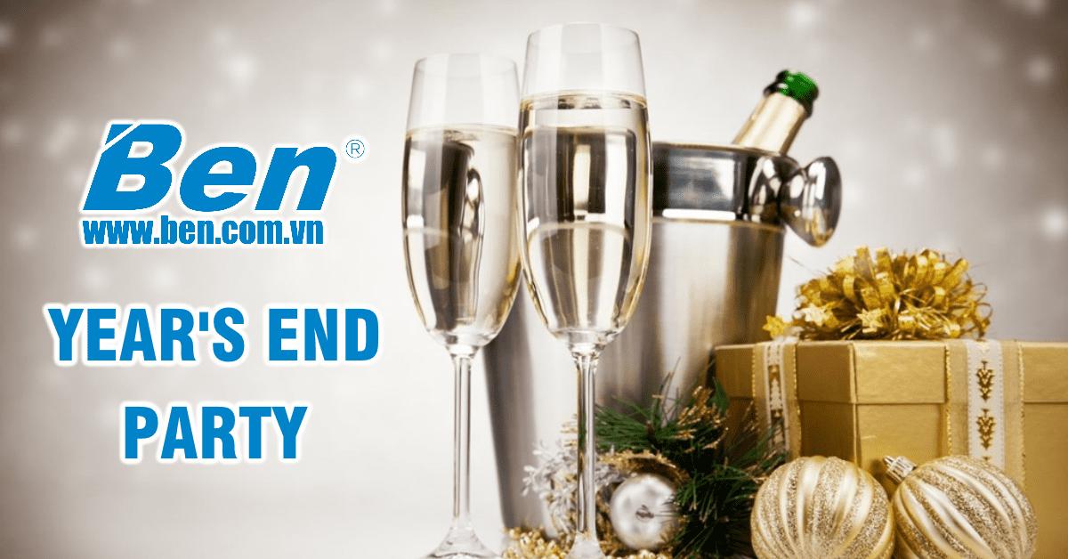 Thông báo tổ chức Year's End Party của Ben Computer
