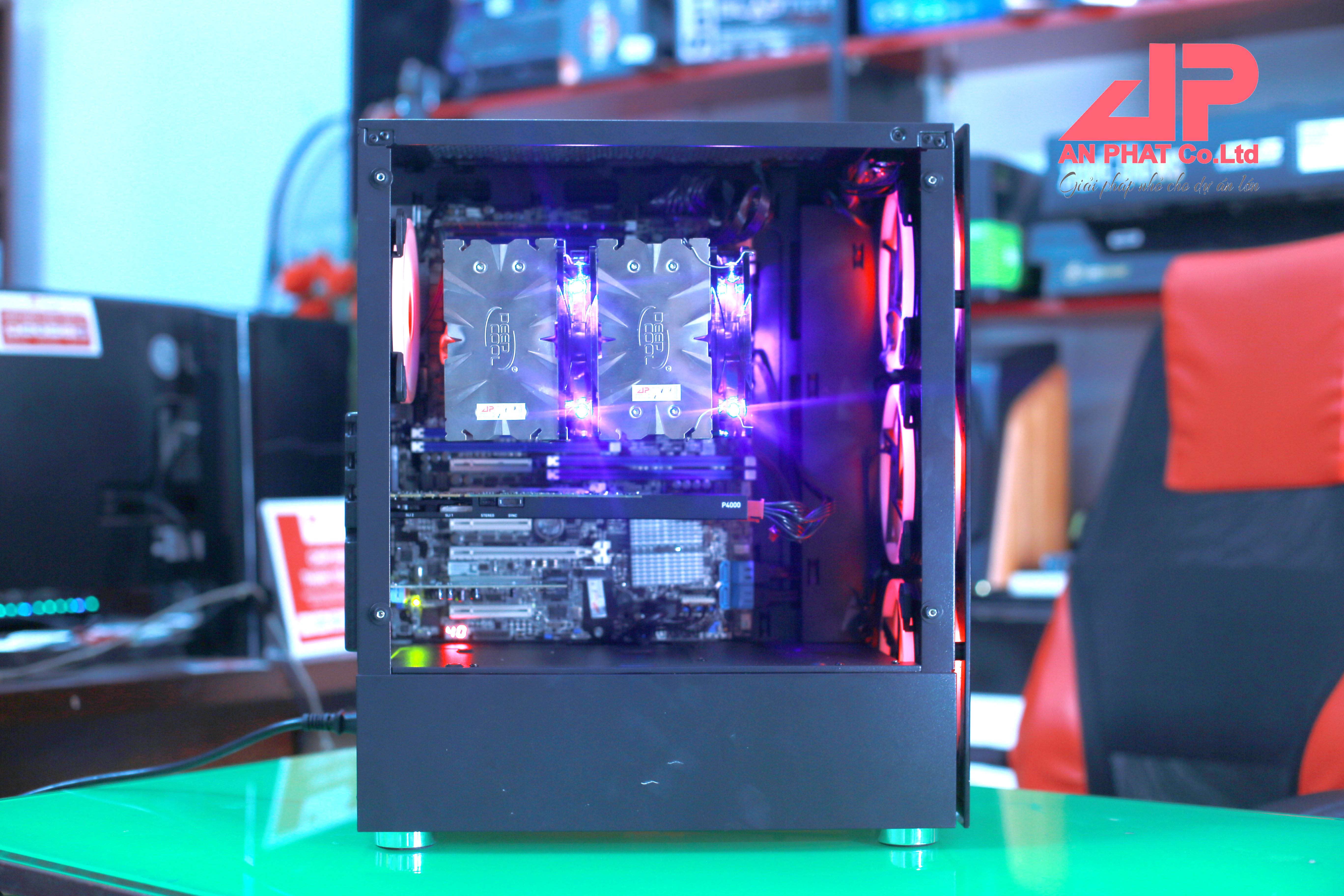 máy tính workstation dual cou xeon