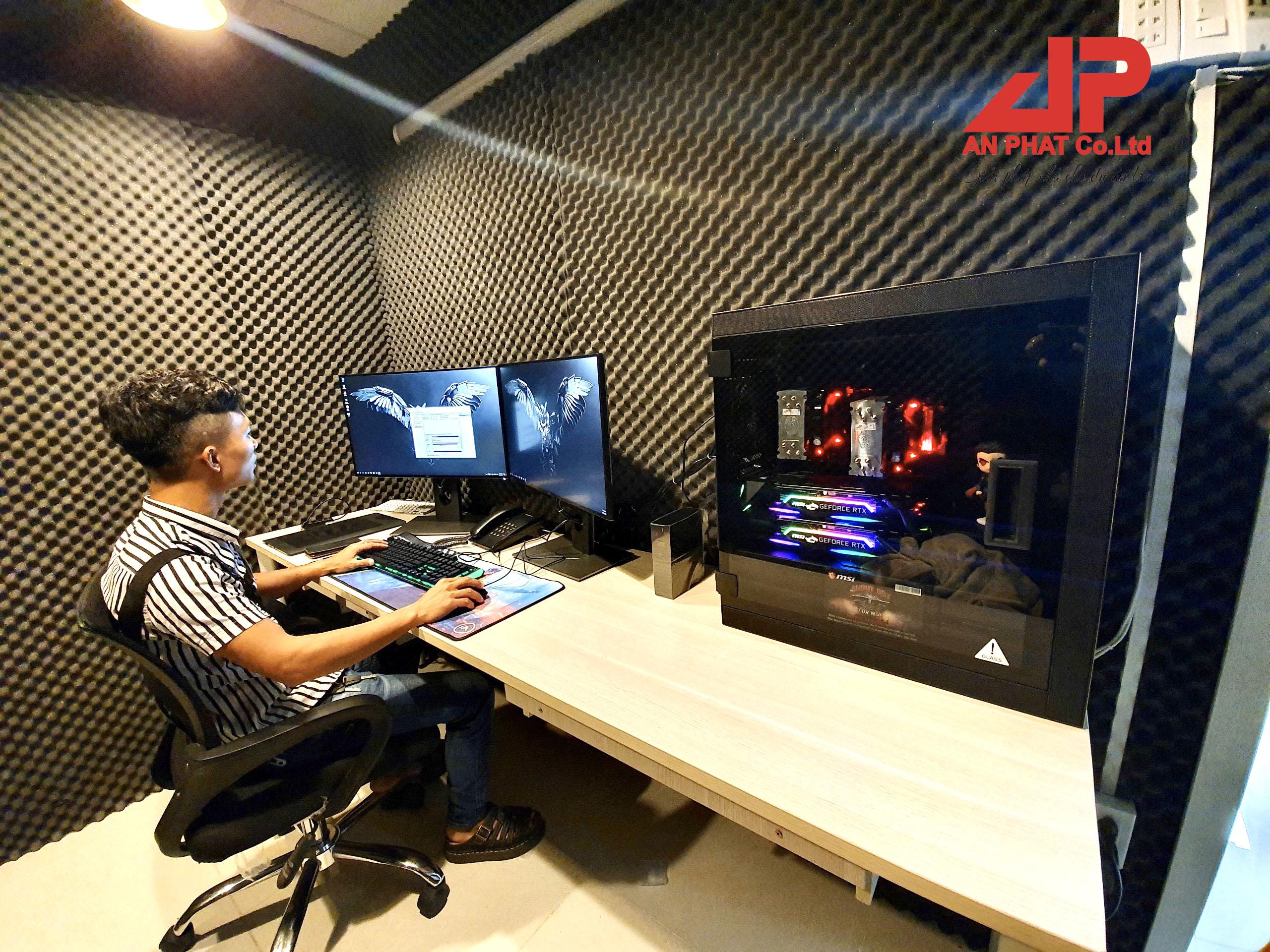 máy tính Workstation dựng phim