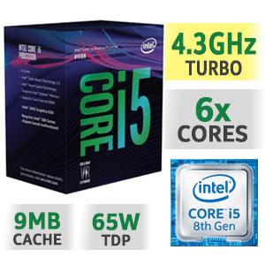CPU INTEL CORE I5 8600K COFFEE LAKE ( xung cực cao 6 nhân 4.3Ghz !!! )