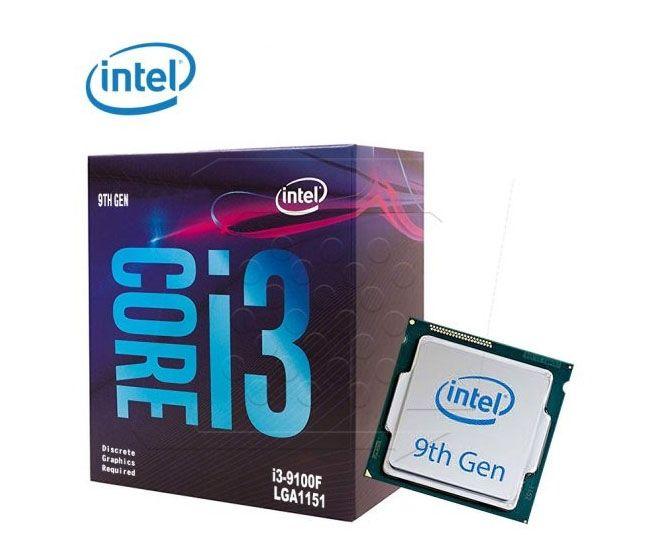 CPU Intel Core i3 -9100F (3.6 GHzTurbo up to 4.20GHz / 4 nhân 4 luồng/ 6MB /Socket 1151) BOX CHÍNH HÃNG