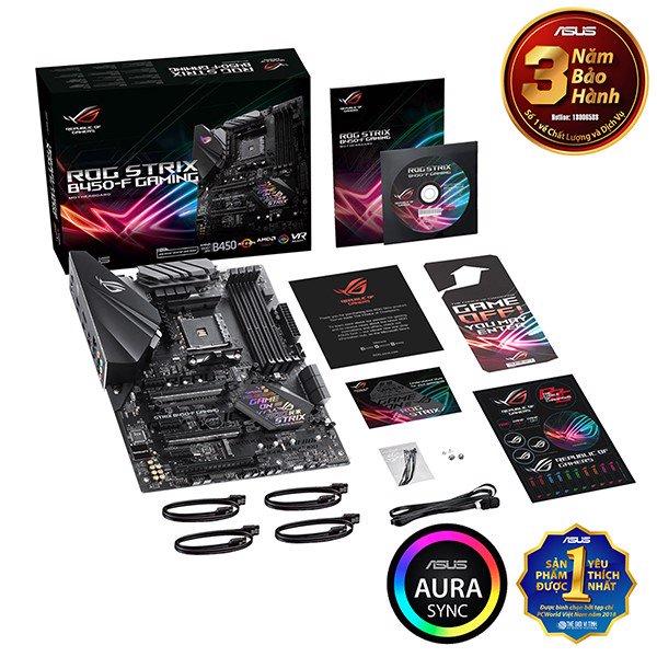 MAIN ASUS B450 ROG STRIX B450-F GAMING (AMD)