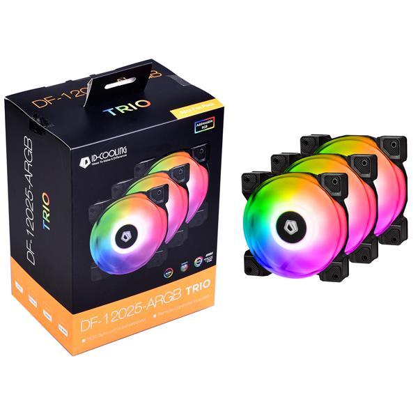 FAN CASE ID-COOLING DF-12025-ARGB TRIO 3pcs Pack