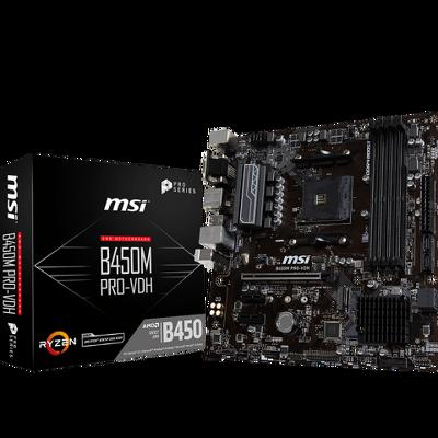 Mainboard MSI B450M PRO-VDH