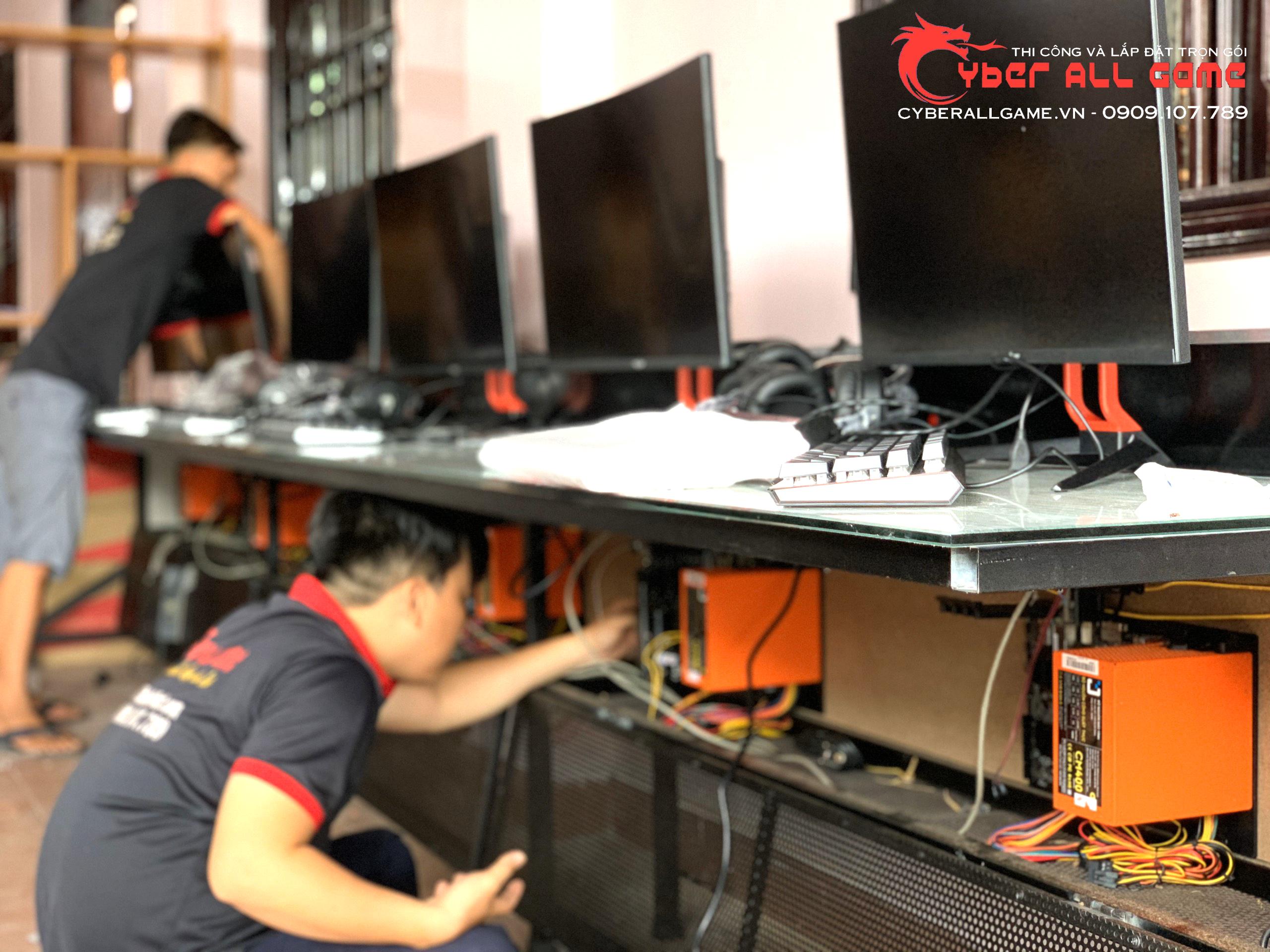 Nâng Cấp Cyber Game