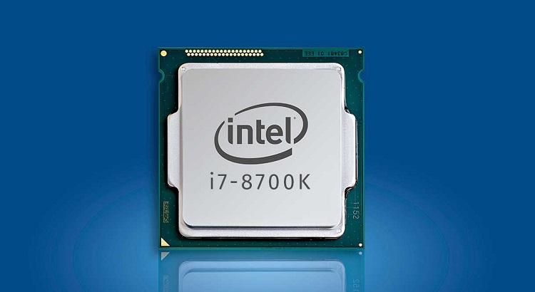 CPU Intell Core I7- 8700K Turbo 4.7 GB 6 core /12 thread