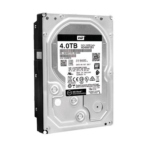 Ổ cứng HDD Western Digital Black 4TB 3.5