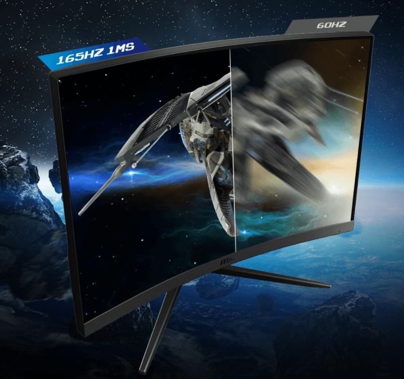Màn Hình Máy Tính MSI Optix G27C5 27 inch FHD 165Hz 1Ms Gaming