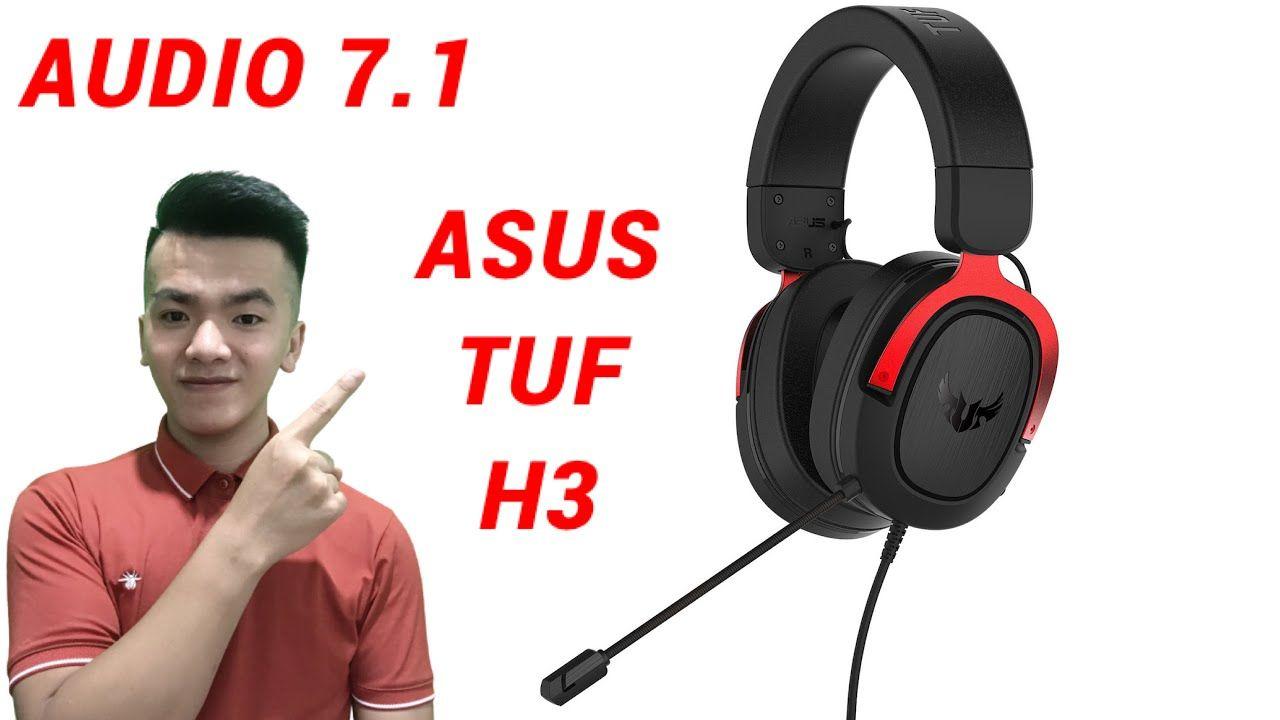 Tai Nghe Asus TUF Gaming H3 Dành Cho Cyber Game VIP