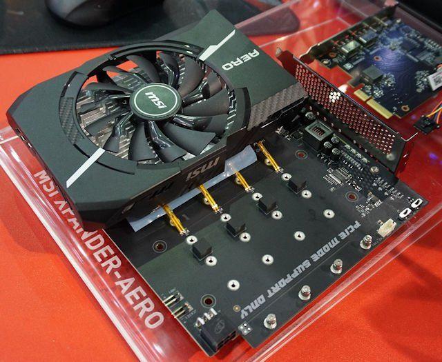 Adapter MSI Hyper M.2 x 16 PCIe 3.0 x 4 V2 (Hỗ trợ 4 SSD NVMe)