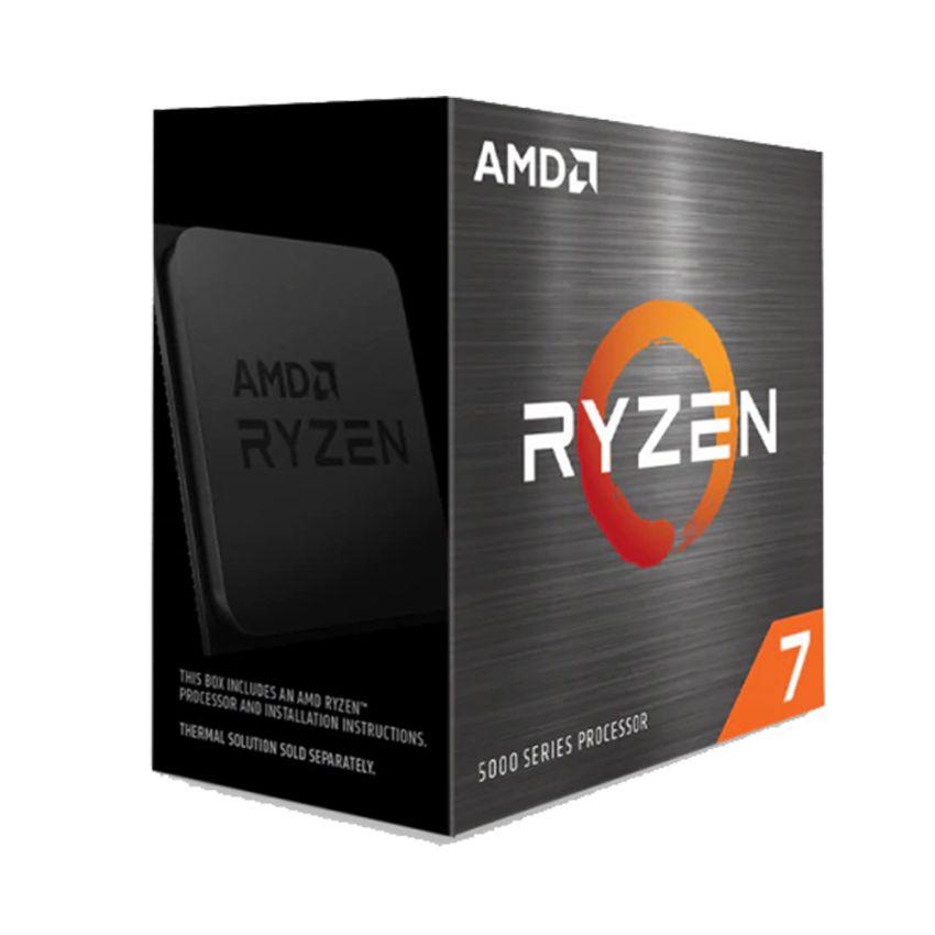 CPU AMD Ryzen 7 5800X (3.8 GHz Upto 4.7GHz / 36MB / 8 Cores, 16 Threads / 105W / Socket AM4)
