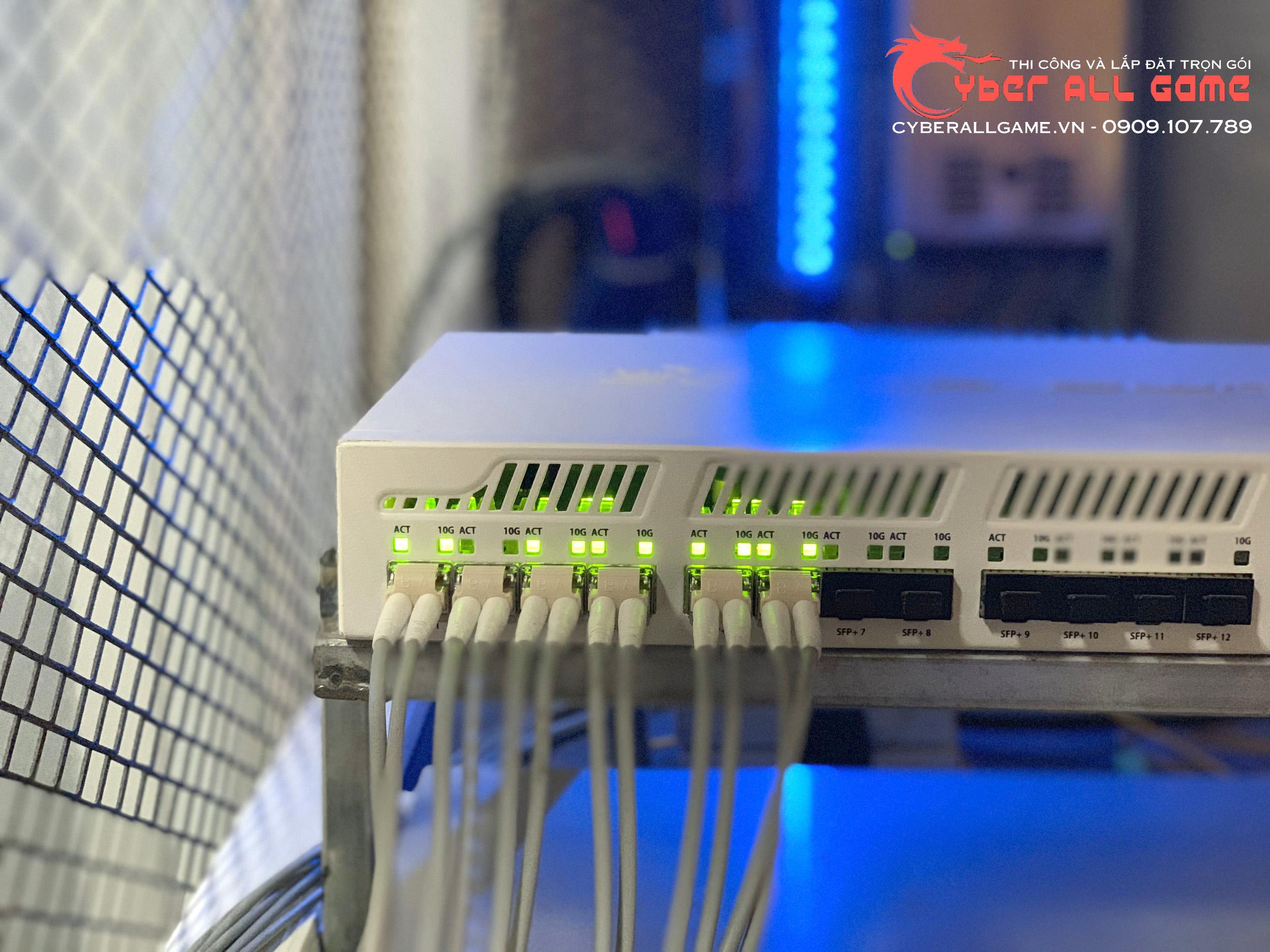 Switch quang học 20gb cho cyber game