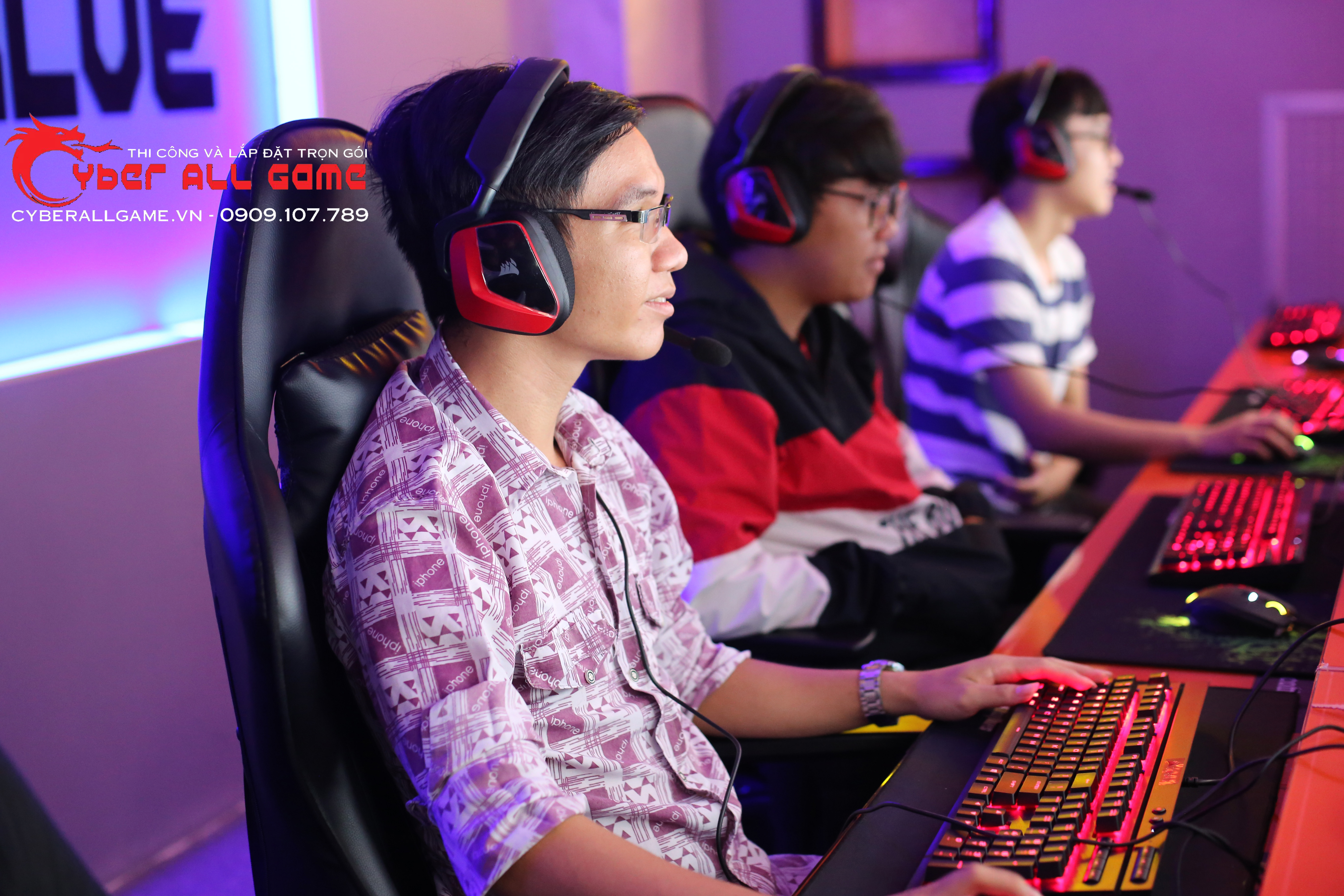 cyber game cao cấp
