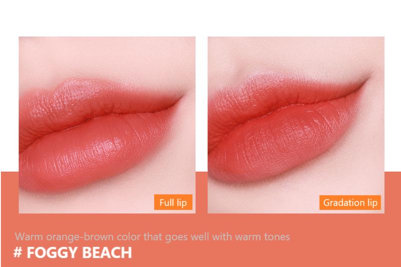 Son Thỏi Lì Mịn Môi Espoir Lipstick No Wear Moist Hug 3.5g - FOGGY BEACH
