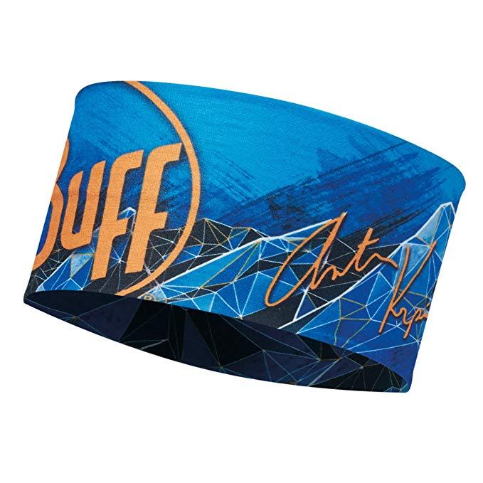 Băng đầu chạy bộ BUFF- ANTON BLUE INK-BLUE