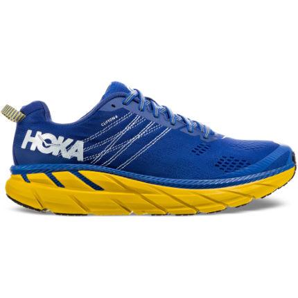 Giày chạy Hoka One One Clifton 6 - Xanh vàng