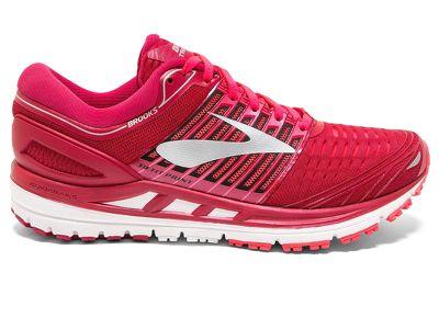 Giày chạy Brooks Transcend 5 - Đỏ (phù hợp chân đáp ngoài)