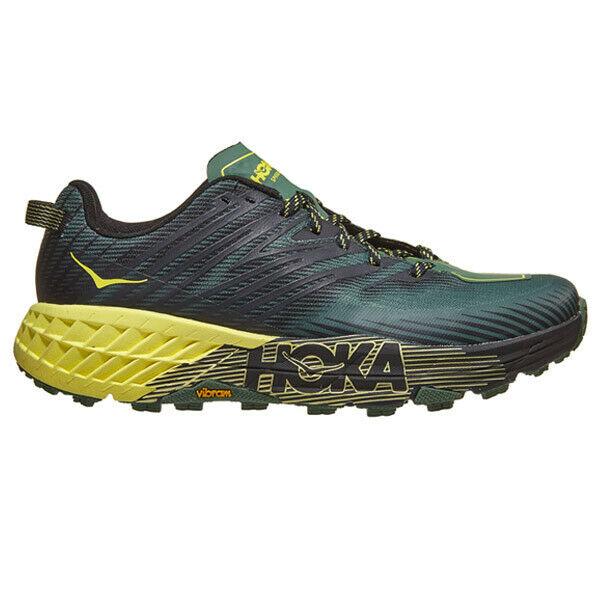 Giày chạy Trail HOKA SPEEDGOAT 4 - MERTYL/LIMELIGHT
