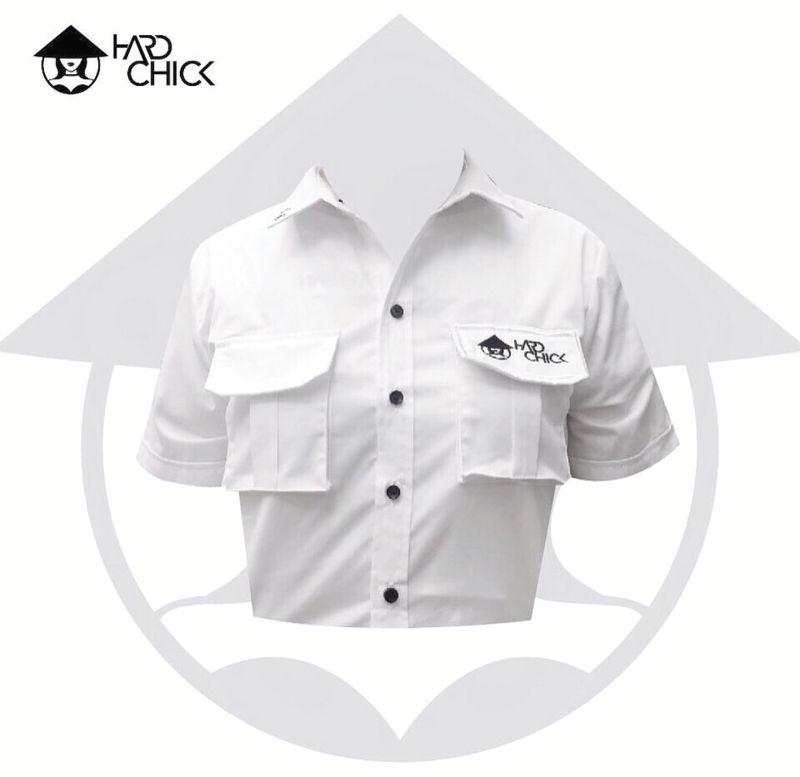 Hard Naive Crop Shirt