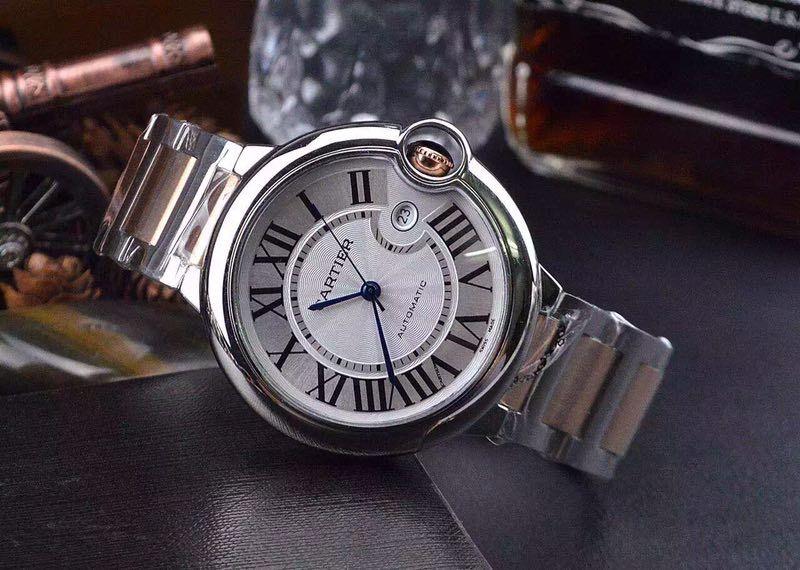 Đồng hồ nam dây viền vàng