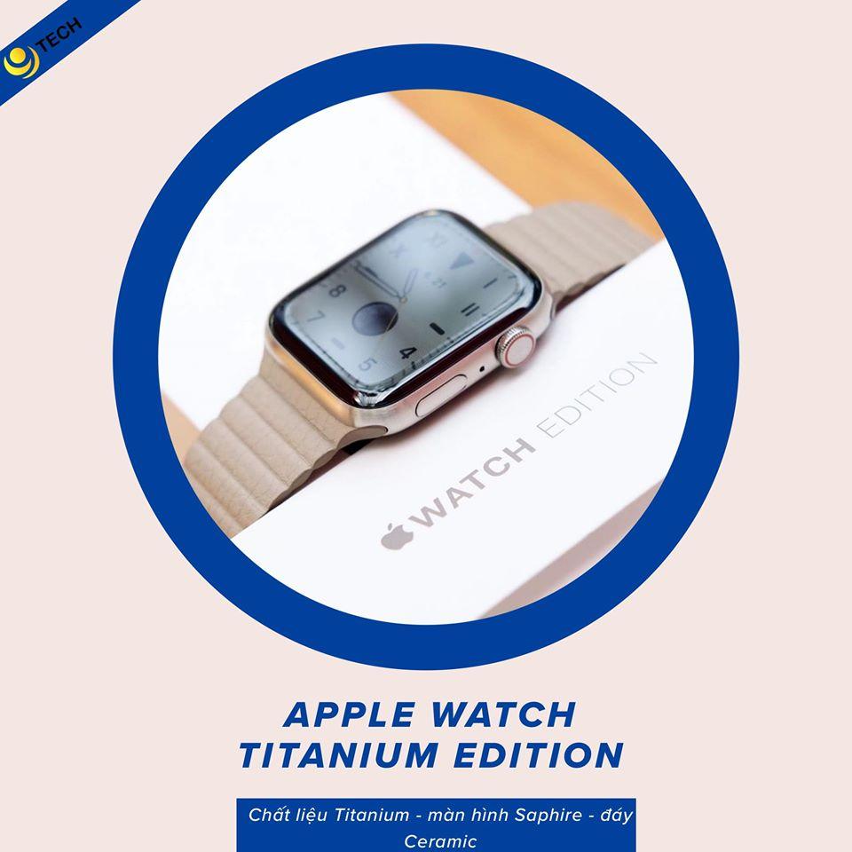 Apple Watch Series 5 Titanium / 9Tech.vn